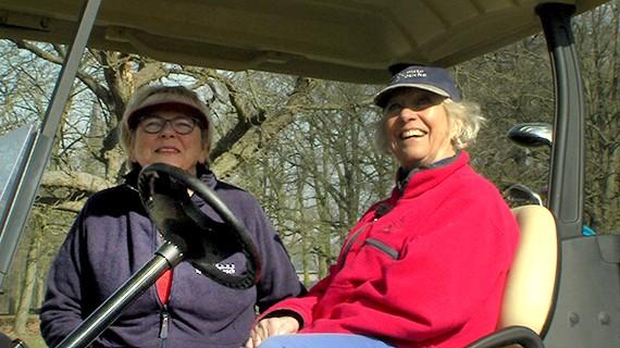 Solidariteit onder golfers